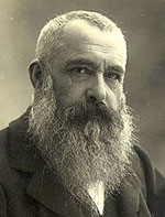 Photograph of Oscar Claude Monet