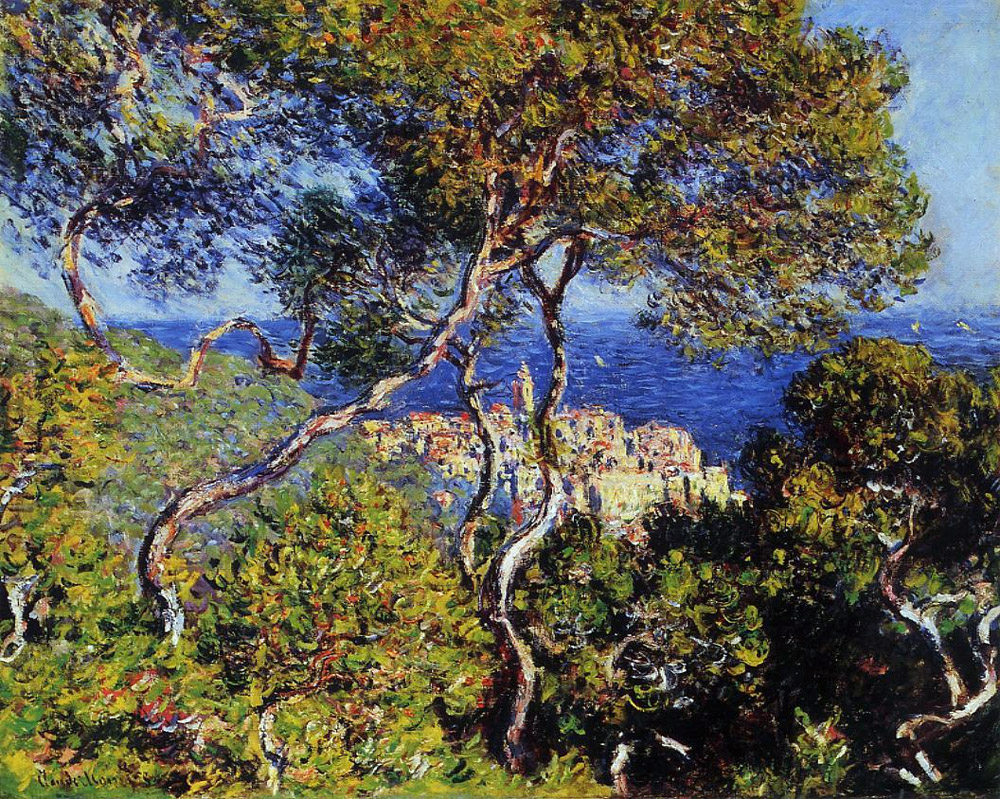 Bordighera by Monet