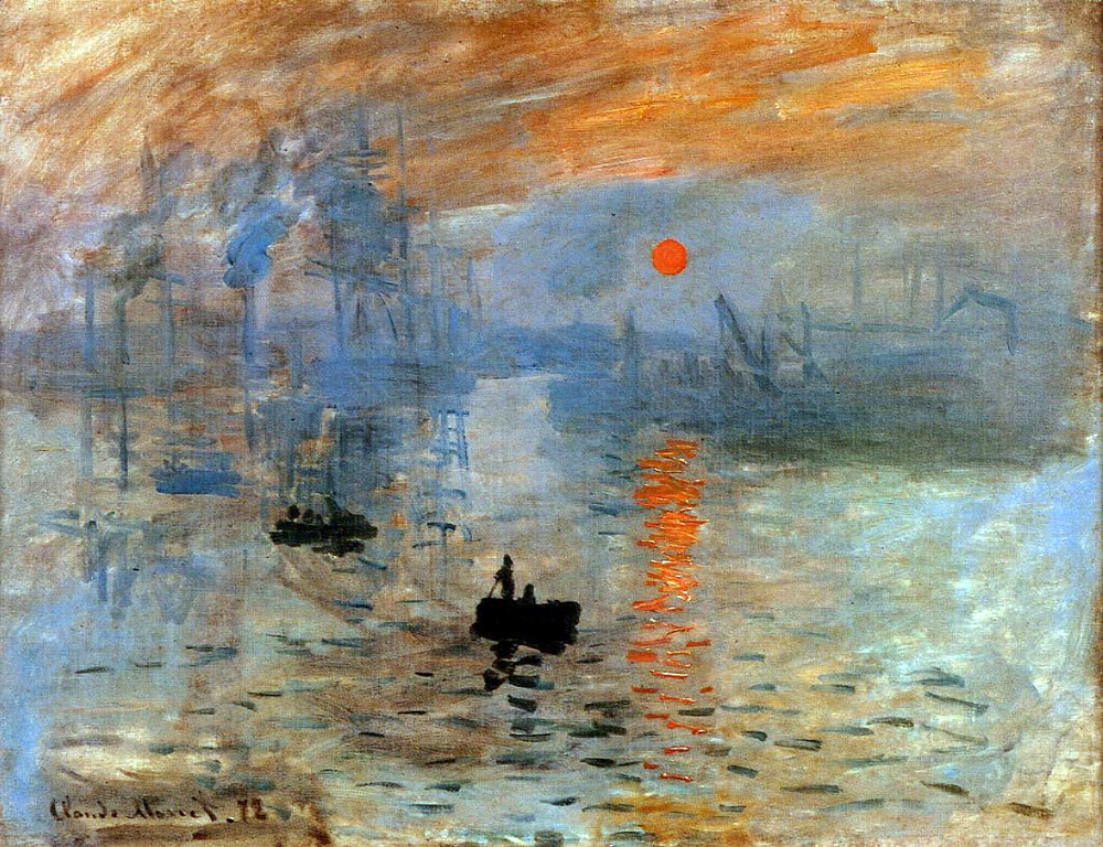 Monet: Impression: Sunrise
