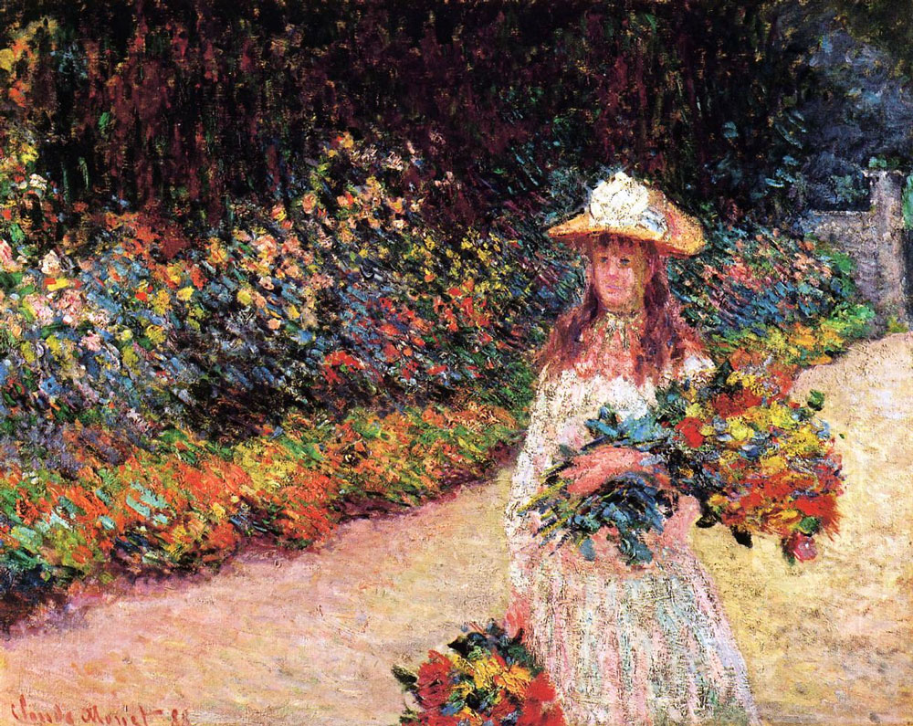 Decor to adore monet s jardin clos normand closed garden for Monet paintings images