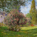 Landscape: Parc Monceau, Paris by Claude Monet