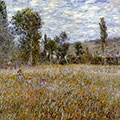 Meadow by Claude Monet